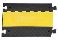 External cable protection cover ramp, centre