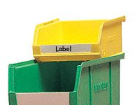 Extra Identification Labels for Plastic Containers