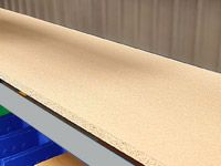 Extra Shelves for Longspan Shelving Bays - Chipboard Decks