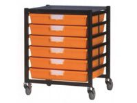 Extra Wide Tray Single Shelving System 740mm H