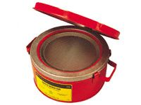 Flammable Liquid Bench Cans - 1 to 8 Litre Capacity