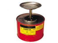 Flammable Liquid Plunger Cans - 0.5 to 4 Litre Capacity
