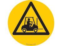Floor marker sign: Forklifts Triangle