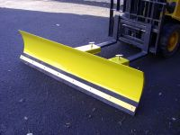 Forklift mounted snow plough, blade width 1500mm