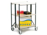 Folding Shelf Trolley