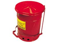 Foot Operated Oily Waste Cans - 23 to 80 Litre Capacity