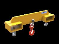 Forklift Adjustable Hook, 3000kg SWL