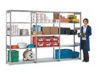 FST bolt free shelving,3 bay run 2000x3100x500