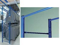 Garment Hanging Racking Extension Bays - 622mm Wide