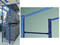 Garment Hanging Racking Starter Bays - 622mm Wide