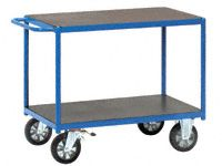 Fetra H/D 2-shelf Table top Trolley 1200 x 700mm LxW