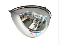 Half Hemispherical Safety Security Mirror 600 x 320