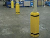 Half Section Replacements for Column Protectors
