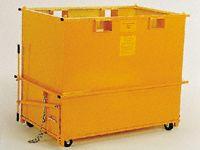 Heavy duty Handy skip bin, capacity 1.0m3