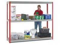 Heavy Duty Just Shelving Bays - 2400 x 450mm