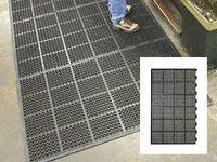 High duty anti fatigue mat edged 1long 2short side