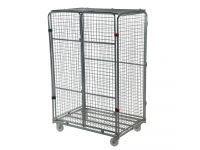 Jumbo security demountable roll cage container