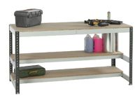 Just Workbenches With 2 Lower Shelves