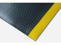 Kumfi Diamond Anti-Fatigue Black and Yellow Matting
