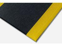 Kumfi Pebble Anti-Fatigue Black and Yellow Matting