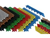 Kumfi Tile PVC Interlocking Duckboard Matting System