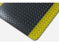 Kumfi Tough Anti-Fatigue Black and Yellow Matting