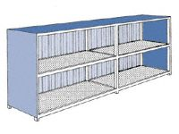 Lockable Outdoor Storage Units for 3-12 IBC Containers