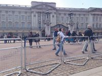 London style Crowd control Barriers