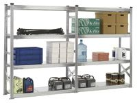 Longspan Galvanised Shelving Extension Bays - 1800mm Wide