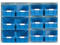 Louvred Panel Kits Complete With TC5 Storage Bins