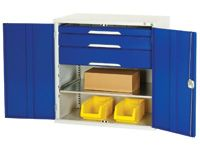 Low level cupboard with 3 drawers + 1 shelf
