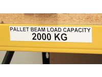 Magnetic Warehouse Labels - 25 to 90mm High