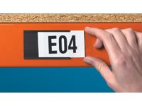 Magnetic Label Holders - 15 to 70mm High