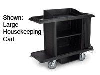 Medium housekeeping cart
