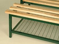 Mesh Shoe Racks for DS-DSX-DSM Double Sided Benches