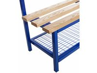 Mesh Shoe Racks for SS-SSX-SSM Single Sided Benches