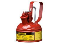 Justrite Metal Safety Can 0.5 litre cap. flammable liquid