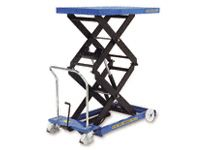 Mobile Double Scissor Lift Tables 125kg to 800kg