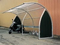 Modular Cycle Shelter extension bay