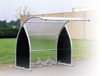 Modular Cycle Shelter