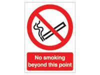 No Smoking Prohibition Signs - 210 x 148mm