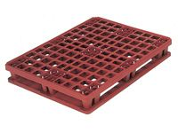 Packpal Plastic Pallet ventilated deck + collar (1)