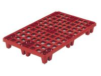 Packpal Plastic Pallet ventilated deck + collar