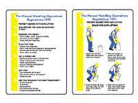 Pocket guide: Manual Handling Regulations 1992