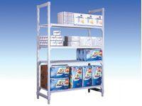 Polypropylene Starter Bays - 400mm D, 4 Grille Shelves