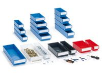Polypropylene Workshop Shelf Bins - 400 x 92 x 82mm