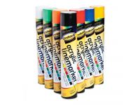 Line Marking Spray Paint 750ml, Pack of 12