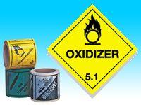 Roll of hazard diamonds - Oxidiser