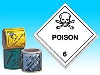 Roll of hazard diamonds - Poison