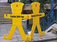 Minders multipurpose safety guards/barriers (pair)